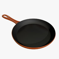 frying pan 3D model
