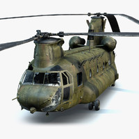 CH-47 Chinook Wrecked