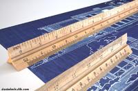hd wooden ruler 6 model