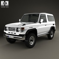 toyota land cruiser model