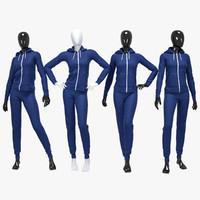 Female sport suit 2