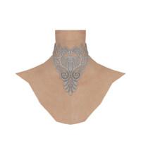 Crocheted Lace Victorian Choker