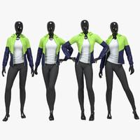 Female fitness sport suit