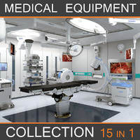 Medical Equipment Collection 15 in 1