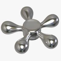 3D model ballz fidget spinner