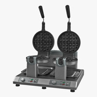 Commercial Waffle Maker Double Heads