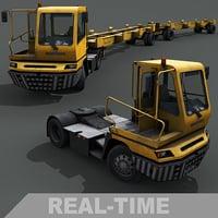 yard tractor 3D
