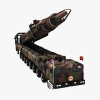 North Korea ICBM Missile