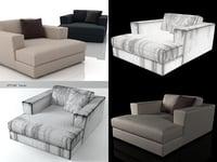 canyon armchair 3D