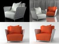 inout 801fw armchair 3D