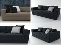 canyon 2-seater sofa 3D model