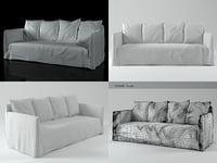 3D ghost 12 sofa model