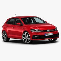 3D model 2018 volkswagen polo gti