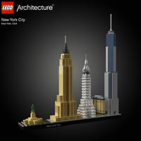 architectural new york city 3D model