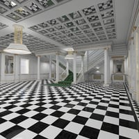 Grand Hall Entrance Staircase