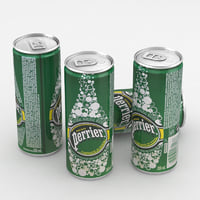 Beverage Can Perrier Water 250ml