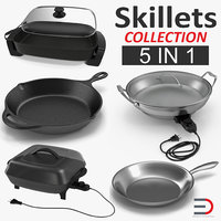 skillets electric cover 3D