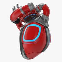 3D robotic heart