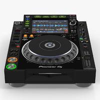 tabletop dj player pioneer model