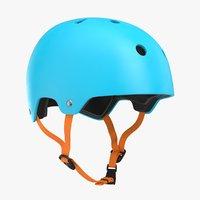 skateboard helmet 3D model