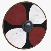3D shield medieval games