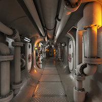 Submarine Corridor 002