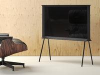 3D serif tv