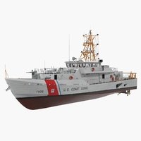 Coast Guard Cutter Jacob Poroo Sentinel Class Ship