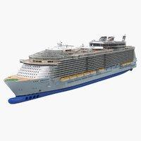 Oasis Class Cruise Ship Oasis of The Seas