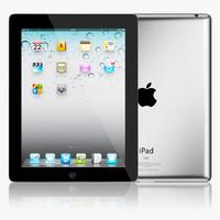 3d realistic apple ipad
