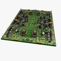 circuit city 3d model