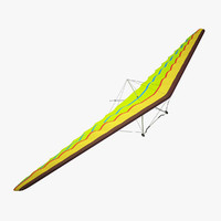 3ds max hang glider