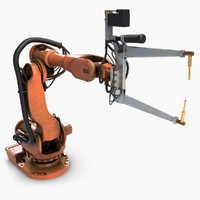 Industrial Robot Arm 4 IRB6600