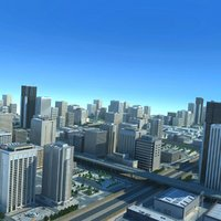 City Big Cityscape Highway