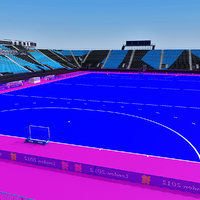 riverbank arena 3d obj