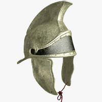 3d helmet libyan infantry model