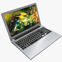 acer notebook v5-571 3d model