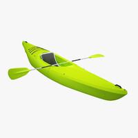 small recreational kayak 3ds