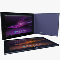 sony xperia tablet z model