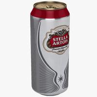 Stella Artois Beer Can