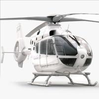 Eurocopter EC 135 Generic White