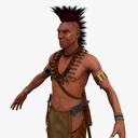 Historical Figures 3D models