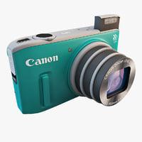 canon powershot sx260 hs 3d 3ds