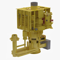 3d 3ds subsea tree