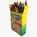 art supplies 3D models