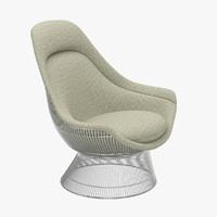 Warren Platner Throne Chair