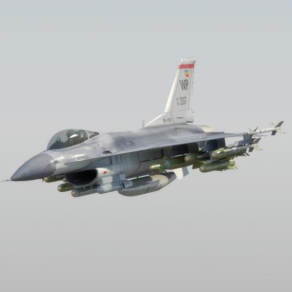 max f16c falcon usaf jet fighter