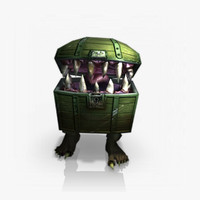 chest mimic 3d model