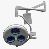 cold light operating lamp 3d model