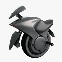motorcycle modeled 3d model